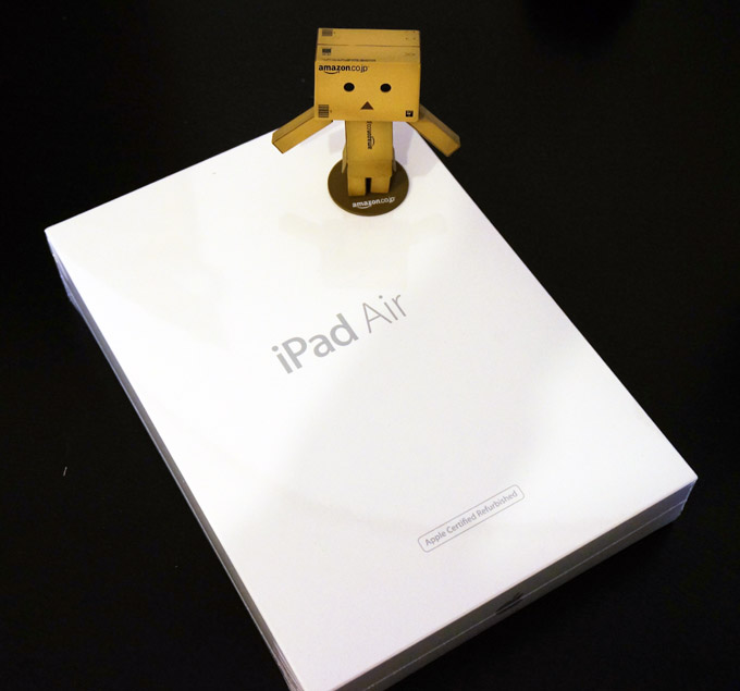 iPad Air とダンボー