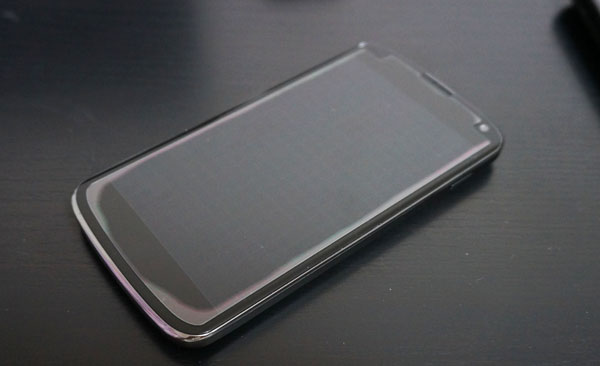 Nexus4とガラスフィルム