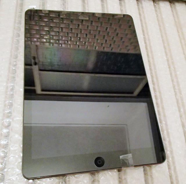 iPadとガラスフィルム