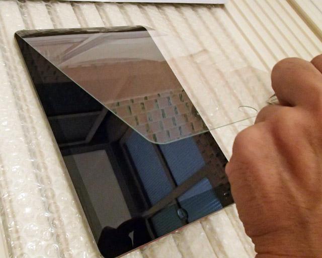 iPad ガラスフィルム