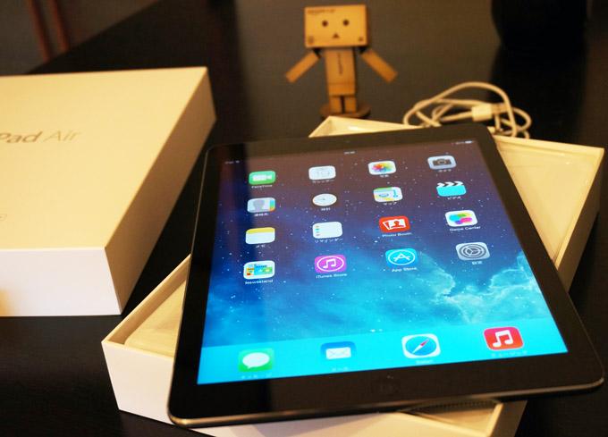 iPad Air 開封