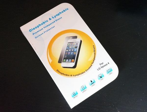 Nexus4用ガラスフィルム