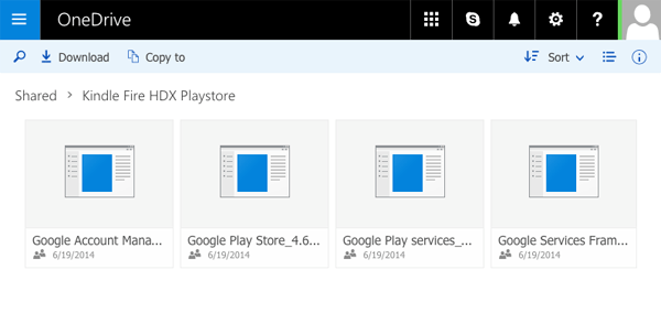 fireタブレット Play store